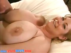 Amateur wife with big tits have sex tape