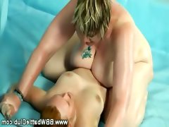 Huge bbw plumpers wins wrestling match