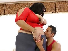 Kinky bbw brunette ashely heart gets..