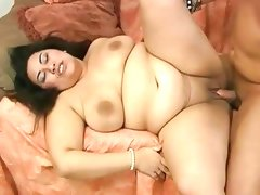 Shaved pussy bbw fat chunky