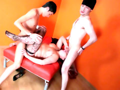 Mmf threesome with hardcore busty..
