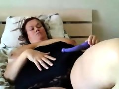 Bbw with huge tits that are real gets..