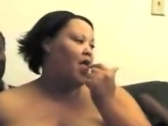 Sexyfat girl eat skinny black dude big..