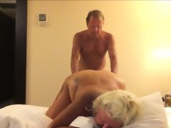 Mature couple creating their first sex..